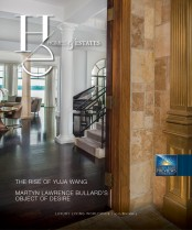 Homes & Estates Magazine Cover Proof 174x209
