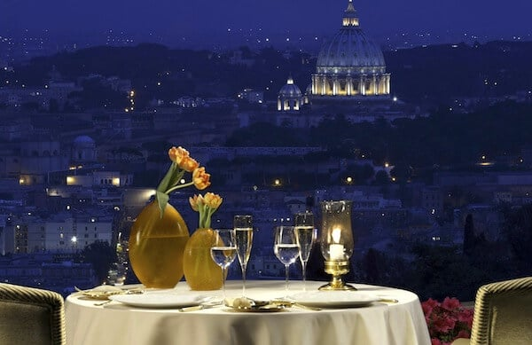 ristoranti I migliori ristoranti di lusso in Italia La Pergola View