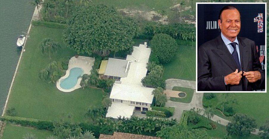 julio iglesias In vendita ad un prezzo record la villa di Julio Iglesias a Miami 2948A3DF00000578 0 image a 5 1433296686172 3