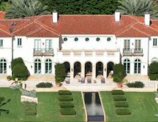 julio iglesias In vendita ad un prezzo record la villa di Julio Iglesias a Miami fotocop 520x400