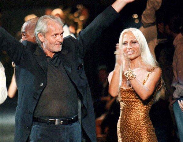 versace Gianni Versace: vent'anni senza il rivoluzionario della moda gianni donatellaversace