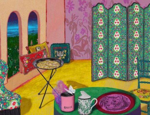 gucci Gucci Décor: la collezione design per la casa collezione gucci decor 520x400