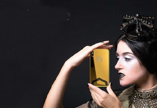 iphone iPhone X si veste di oro e diamanti: in anteprima la versione extra lusso luxxheaders1 orig 1 520x358