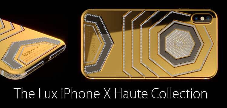 iphone iphone iPhone X si veste di oro e diamanti: in anteprima la versione extra lusso luxxheaders5 orig