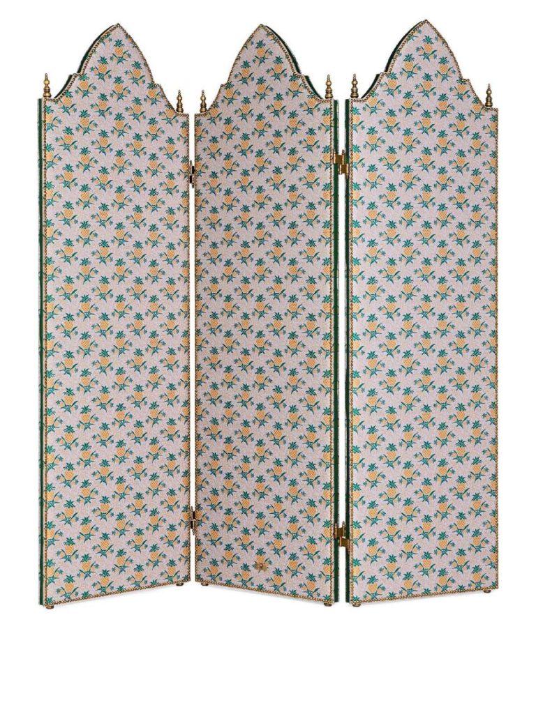 guccidecor gucci Gucci Décor: la collezione design per la casa paravento separe gucci decor 768x1024