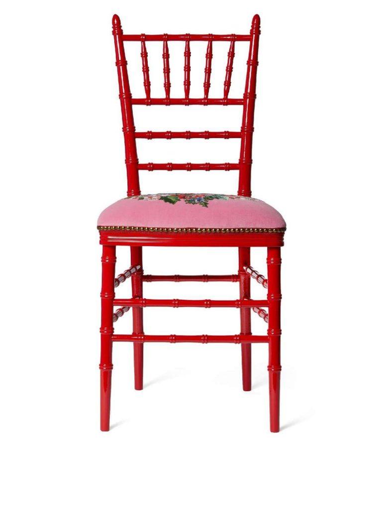 guccidecor gucci Gucci Décor: la collezione design per la casa sedia gucci 768x1024