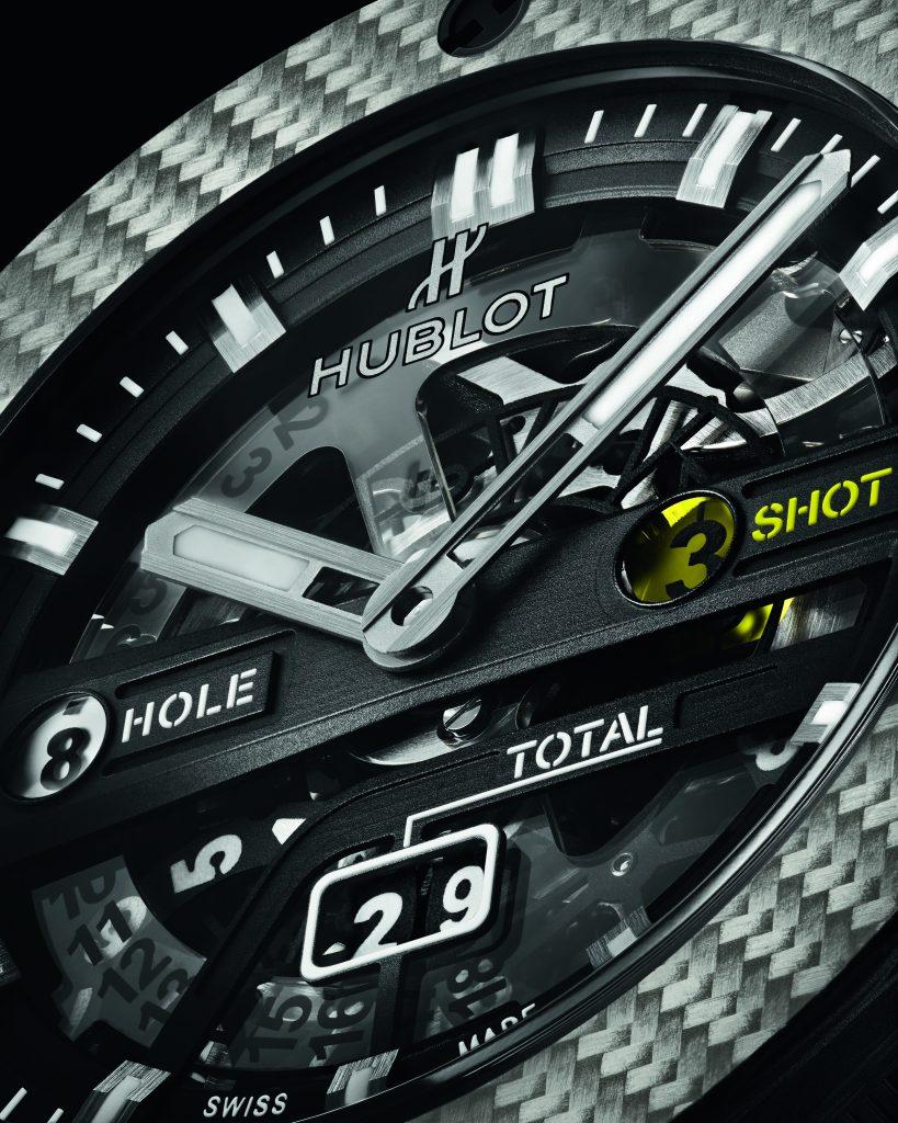 hublot hublot Hublot presenta il primo orologio meccanico da golf a finestrelle 416 ys 1120 vr 2 819x1024