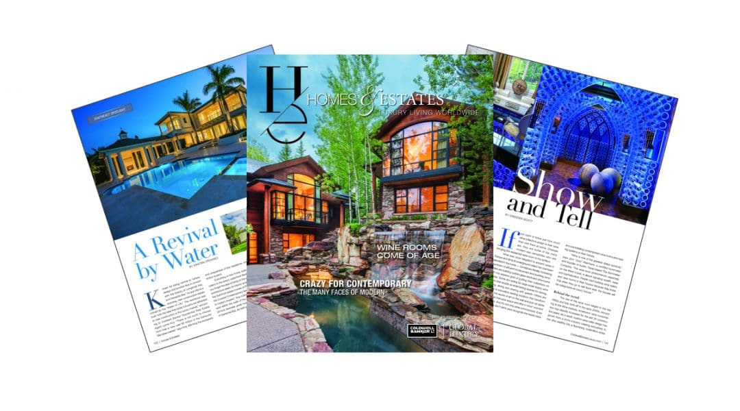 homes & estates magazine Homes & Estates: il magazine di Coldwell Banker Global Luxury BLOG Fall 2017 HE Marketing Fan Layers 1080x600