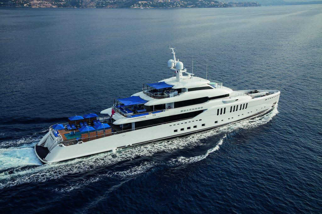 m/yseasense m/y sea sense M/Y Seasense: l'innovativo yacht da 67 metri Benetti SEASENSE running  2  1024x682