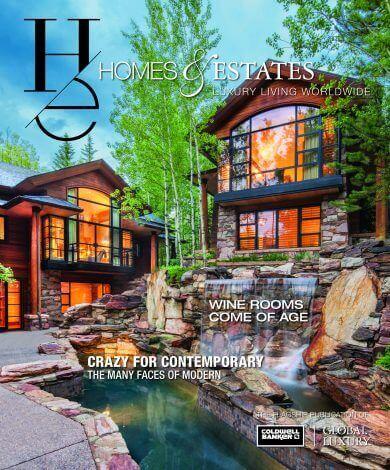 homes & estates magazine Homes & Estates: il magazine di Coldwell Banker Global Luxury Fall 2017 HE Cover 390x470