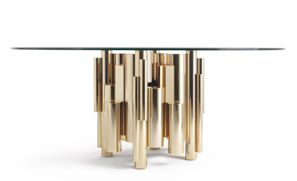 robertocavallitavolo roberto cavalli Roberto Cavalli Home Interiors: stile lussuoso ed evocativo RCHI ANTIGUA dining table 1 1 1024x625