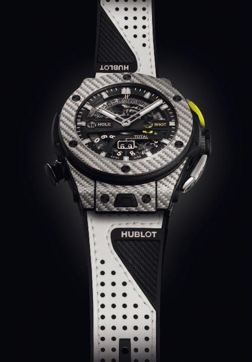 hublotorologio hublot Hublot presenta il primo orologio meccanico da golf a finestrelle l 416 ys 1120 vr 5