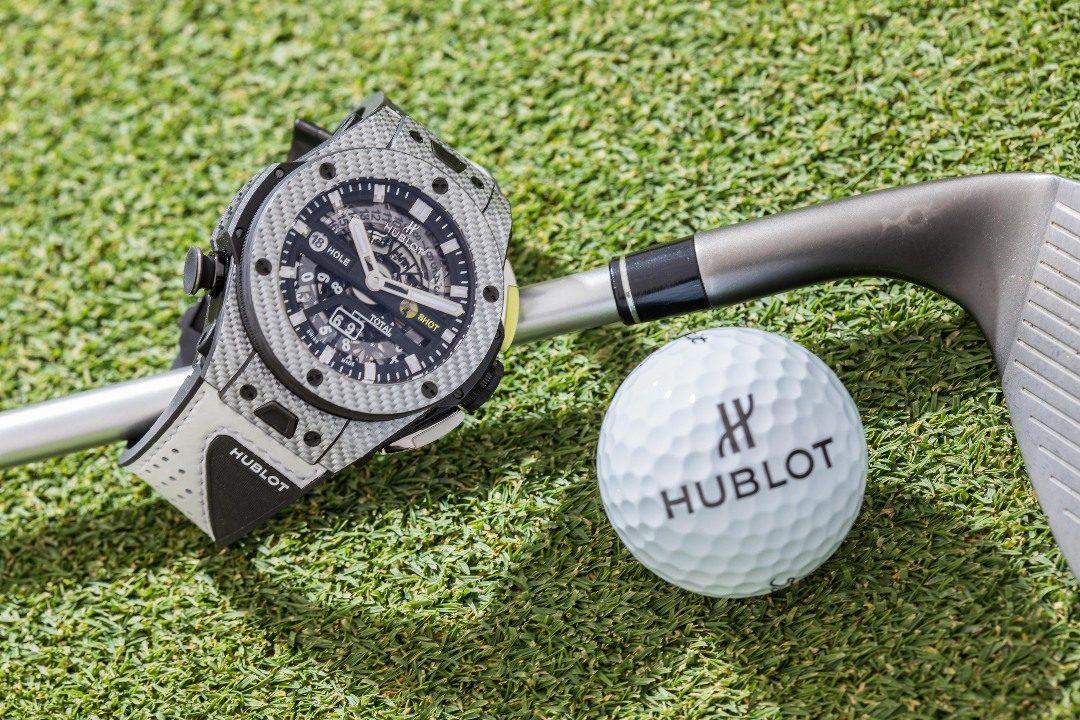hublot Hublot presenta il primo orologio meccanico da golf a finestrelle l big bang unico golf 3 2 1080x720