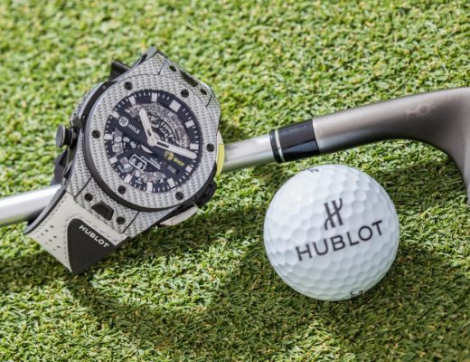 hublot Hublot presenta il primo orologio meccanico da golf a finestrelle l big bang unico golf 3 2 520x400