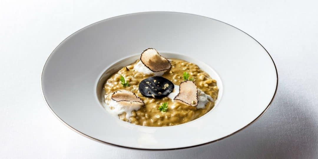 guida michelin Guida Michelin 2018: i nuovi ristoranti stellati di Roma hotel eden la terrazza risotto truffle 1 1080x540