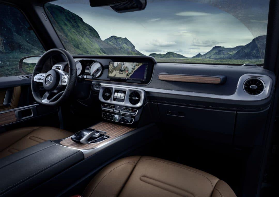 mercedes-benz classe g Mercedes-Benz Classe G: una leggenda che guarda al futuro 17C1002 17 1080x763