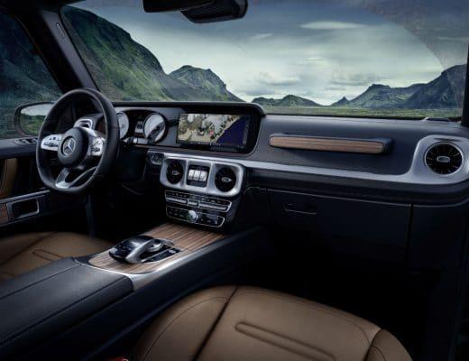 mercedes-benz classe g Mercedes-Benz Classe G: una leggenda che guarda al futuro 17C1002 17 520x400