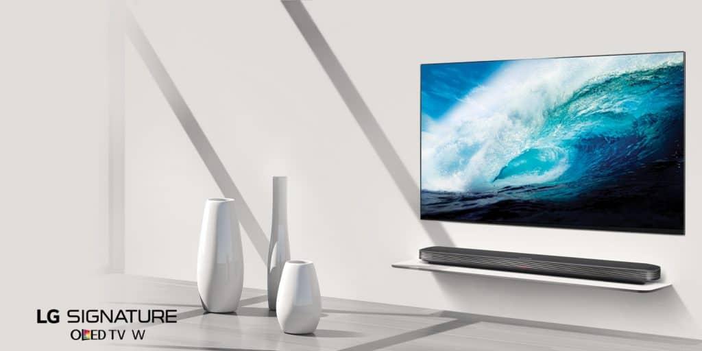 nataletv natale Natale 2017: idee regalo hi-tech di lusso lg banner tv oled W7 d4 1024x512