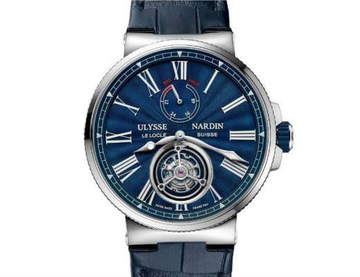 ulysse nardin Ulysse Nardin: ecco il Marine Tourbillon Blue Grand Feu Immagine 520x400