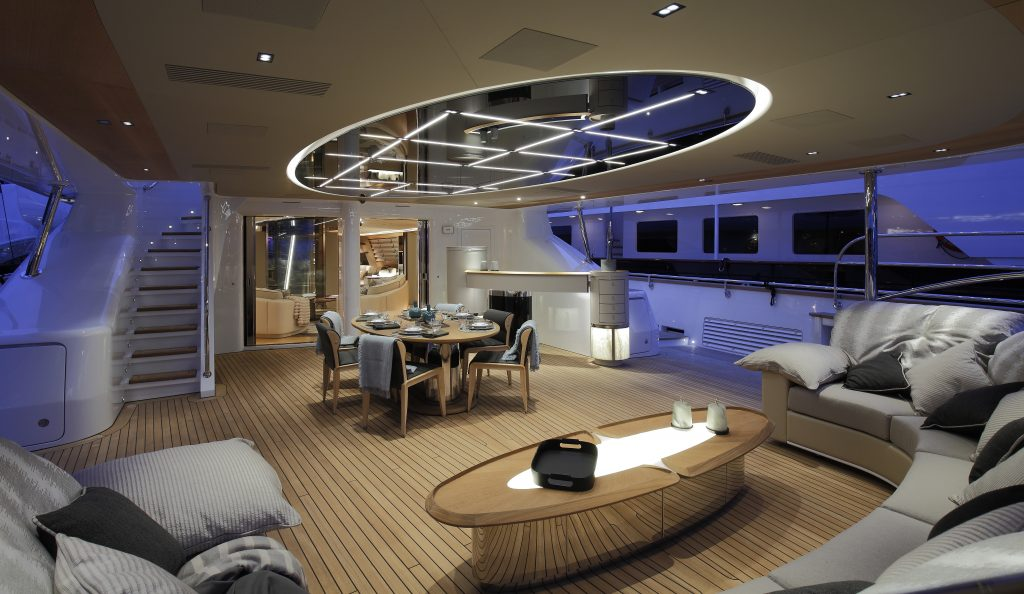 "lighting design 2 lighting design Il ""lighting design"" a bordo del ketch Perini S/Y Seven IMG 08341 1024x594"