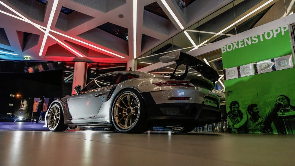 porsche 1 porsche Porsche: 70 anni di auto sportive high 911 gt2 rs new year reception porsche museum 2018 porsche ag 1024x577
