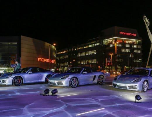 porsche Porsche: 70 anni di auto sportive high 911 targa 4 gts 718 boxster s 718 cayman new year reception porsche museum 2018 porsche ag 520x400