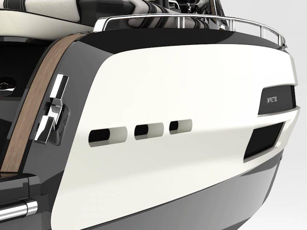 yacht Nasce il primo progetto firmato Invictus Yacht e Anna Fendi HR invictus ghost image 1024x768