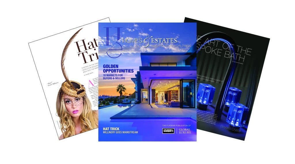 homes & estates Homes & Estates: il nuovo numero della rivista Coldwell Banker Spring 2018 HE Marketing Fan 1024x569