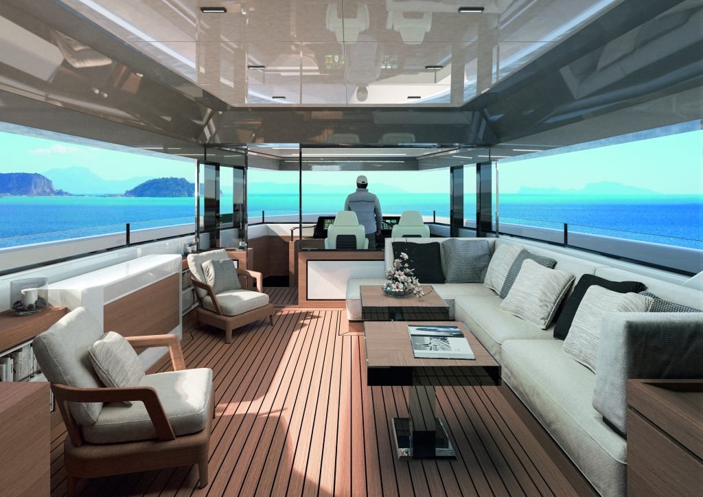 sherpa arcadia sherpa xl Sherpa XL: lo yacht firmato Arcadia dove tutto è oltre 07 sherpa xl conv skylounge 1024x724