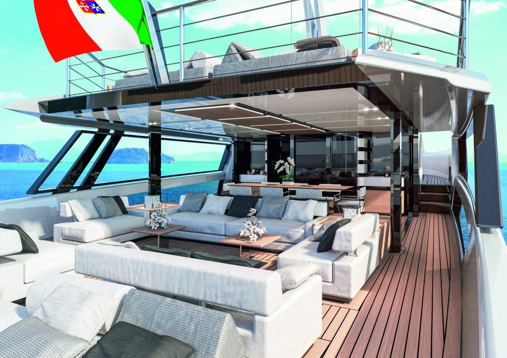 sherpa yacht sherpa xl Sherpa XL: lo yacht firmato Arcadia dove tutto è oltre 09 sherpa xl aftdeck1 1024x724