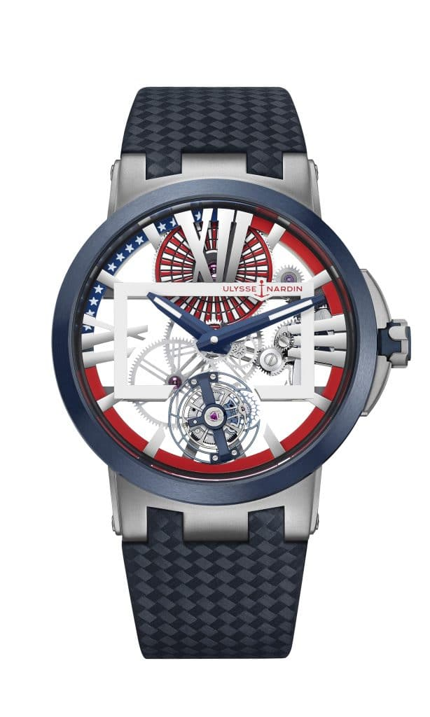 "ulysse nardin ulysse nardin Ulysse Nardin presenta l'Executive Skeleton Tourbillon ""Stars & Stripes"" 1713 139 le starsstipes light 614x1024"