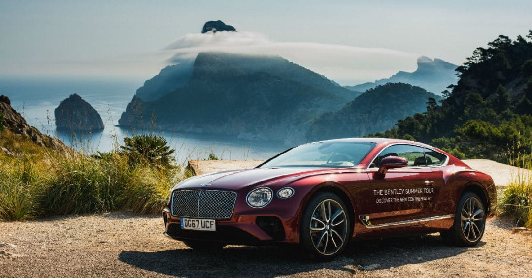 bentley Bentley Summer Tour in Costa Smeralda bentley summer tour costa smeralda 1 1080x565