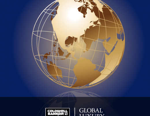 coldwell banker global luxury I vantaggi competitivi di Coldwell Banker Global Luxury glob 520x400