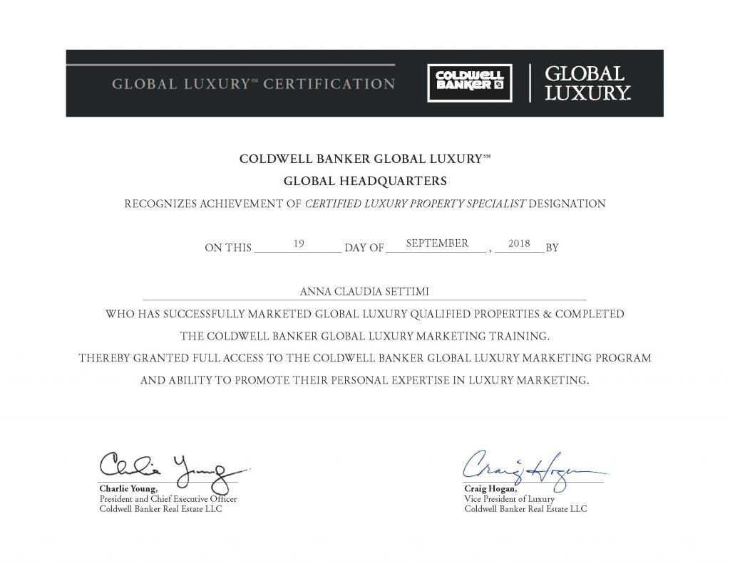 La parola ai Luxury Property Specialist: Anna Claudia Settimi CLAUDIASETTIMI 2 1024x791