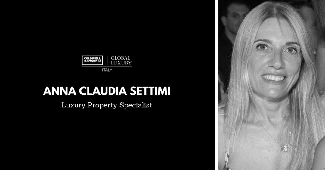 La parola ai Luxury Property Specialist: Anna Claudia Settimi Copia di Copia di Copia di TEXT 1080x565