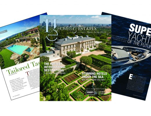 "homes & estates ""Homes & Estates"": il nuovo numero è online Summer 2019 HE Marketing Fan 8x4 1 520x400"