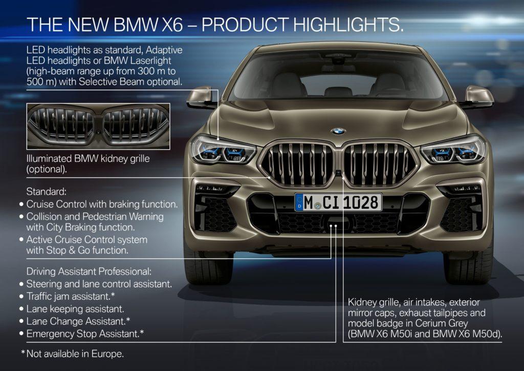 bmw x6 La Nuova BMW X6 p90356954 highres 1024x724