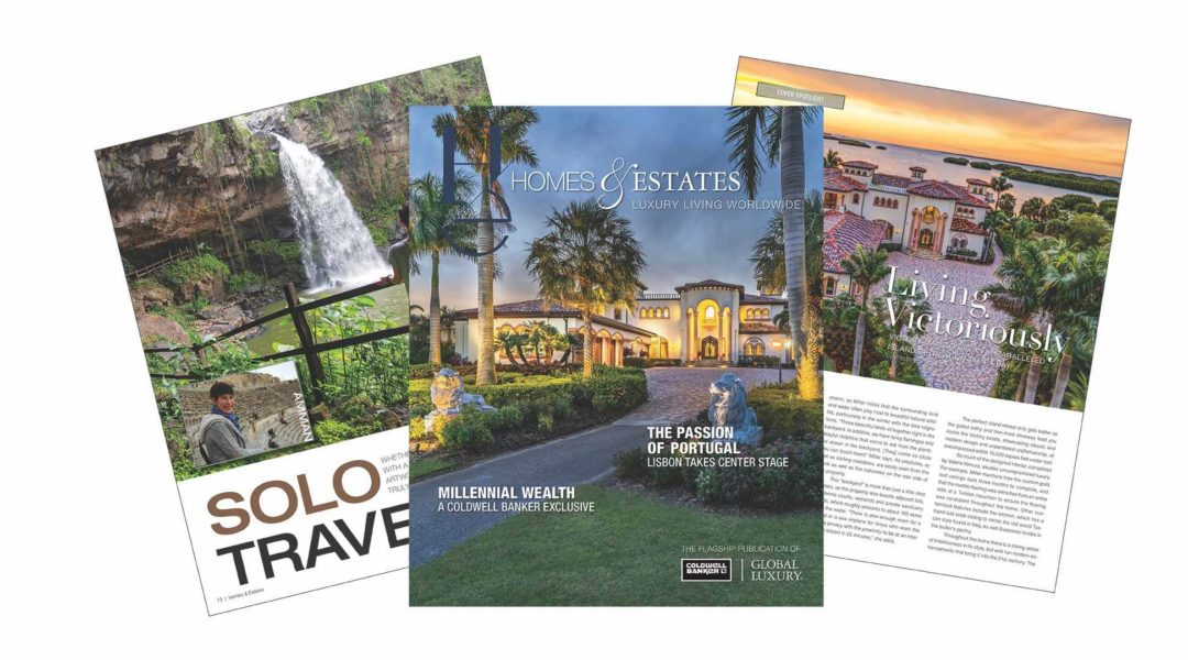 "coldwell banker ""Homes & Estates"": l'ultimo numero del 2019 16 4 Winter 2018 19 HE Marketing Fan FOR WEB 1080x600"