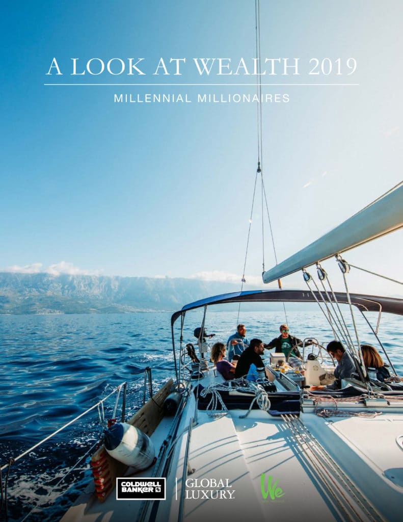 "luxury ""A Look at Wealth 2019"": Millennial Millionaires Cover Millennial Report 791x1024"