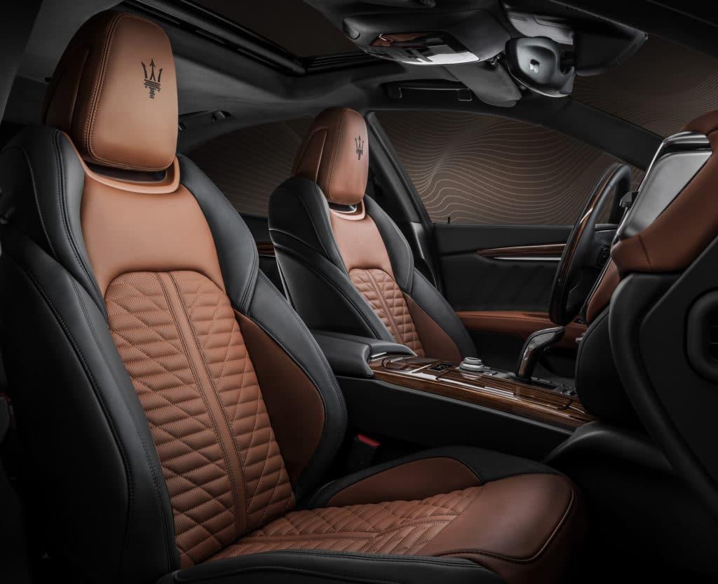 Maserati presenta la serie speciale Royale 16385 maseratiroyalespecialseries twotonepienofioreleatherinterior 1 1024x833