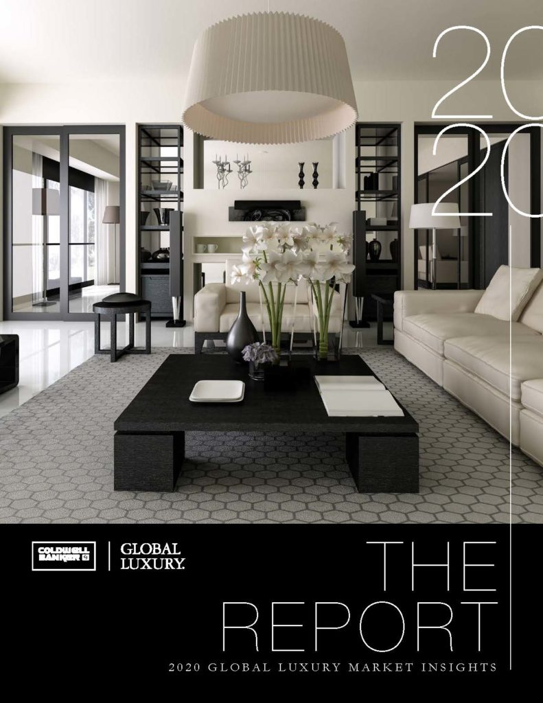 luxury Luxury Report 2020 Front Cover Coldwell Banker Global Luxury Report 2020 1 1 791x1024
