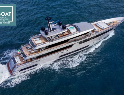 "riva yacht Riva 50 trionfa ai ""Boat International Design & Innovation Awards 2020"" il capolavoro della riva superyachts division 520x400"