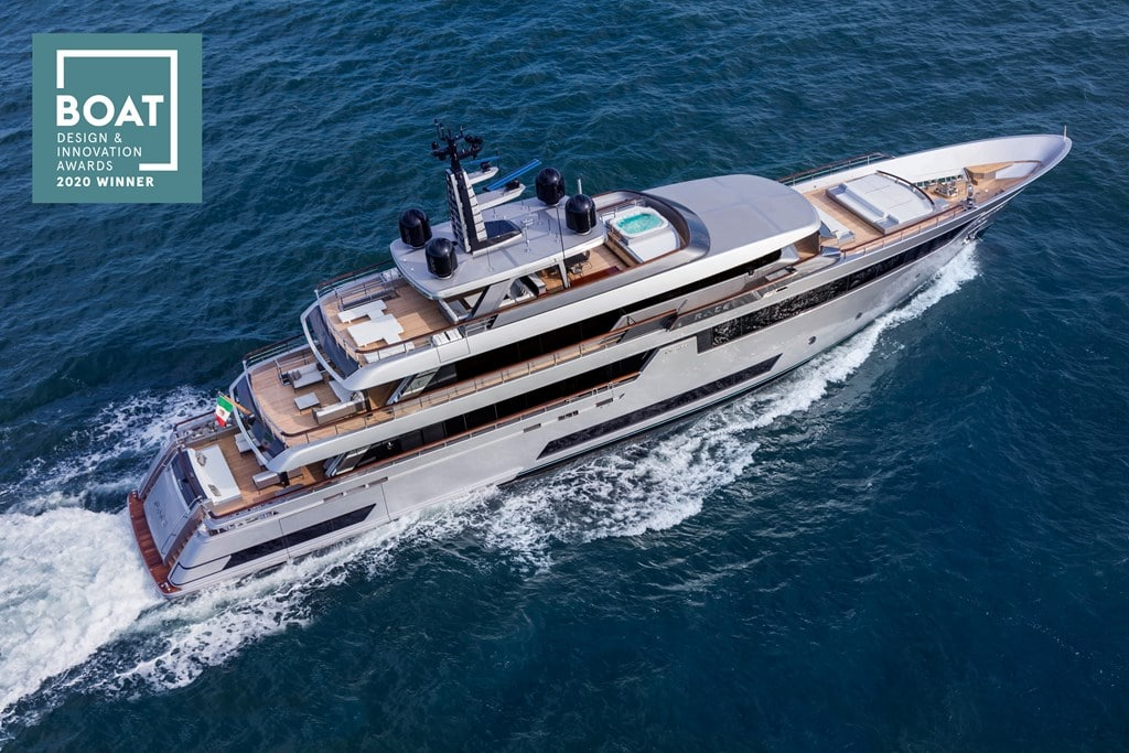 "riva yacht Riva 50 trionfa ai ""Boat International Design & Innovation Awards 2020"" il capolavoro della riva superyachts division"