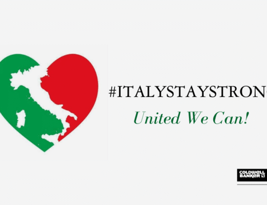 "coldwell banker ""United we can"": affrontare la crisi con la forza di un network internazionale Copia di Copia di STAYSTRONGITALY 520x400"
