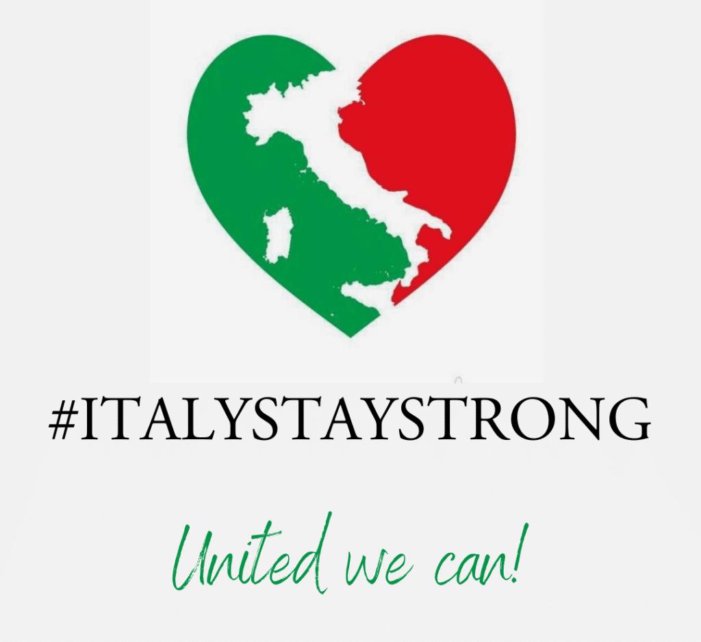 solidarietà Immobiliare, riconoscenza e solidarietà ITALYSTAYSTRONG e1585746225567 1024x937