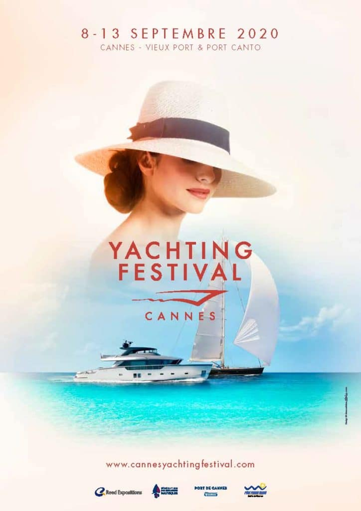 Yachting Festival: dall'8 settembre a Cannes affiche 210x297 yfc 2020 724x1024