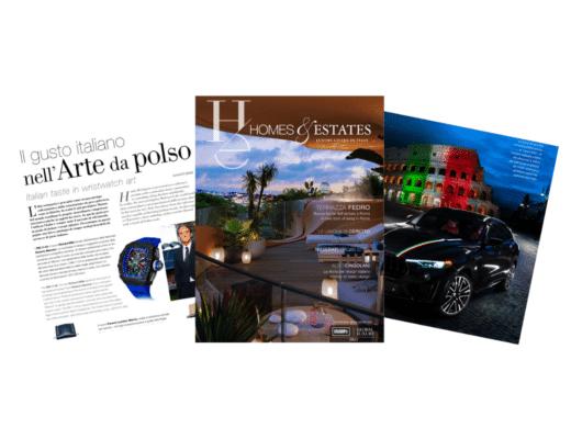 """""""Homes & Estates Italy"""": il primo numero è online Copia di Senza titolo 11 520x400"""
