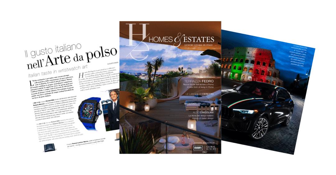 """homes & estates magazine luxury """"Homes & Estates Italy"""": il primo numero è online Progetto senza titolo 48 1080x565"""