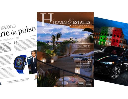 """homes & estates magazine luxury """"Homes & Estates Italy"""": il primo numero è online Progetto senza titolo 48 520x400"""